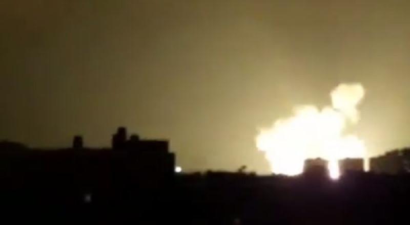 غزة: 3 إصابات بغارتين إسرائيليتين ليلة امس