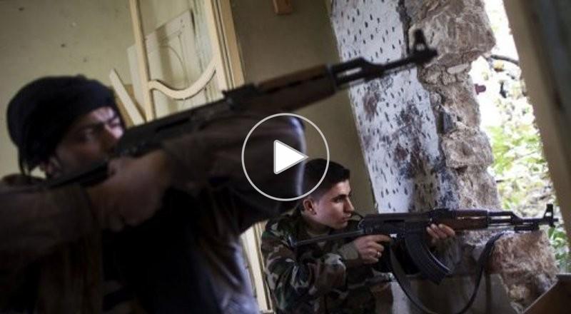 اشتباكات عنيفة بين اللجان الشعبية الفلسطينية ومسـلحي المعارضـة في مخيم اليرموك