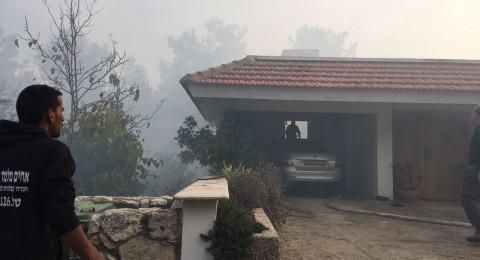 تشاجر مع أفراد عائلته .. فأحرق منزل العائلة!