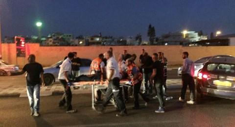 جلجولية: إصابة شاب بجراح متوسطة في حادث ضرب وهرب