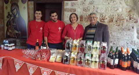 عكا: افتتاح سوق الميلاد