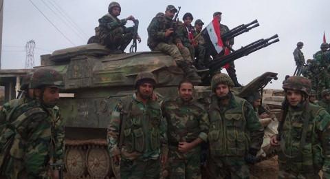 الجيش السوري يقترب من مطار أبو الظهور العسكري بريف إدلب
