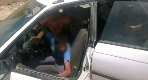 ضبط فتى (14 عامًا) يقود سيارة بالنقب