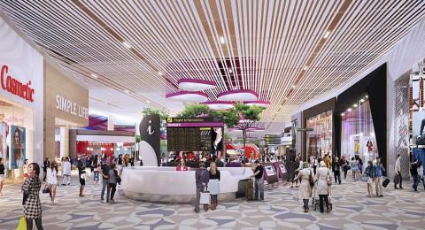 """مطار """"شانجي"""" السنغافوري ينوي التوقف للتذكير عن الاعلانات النهائية للرحلات"""