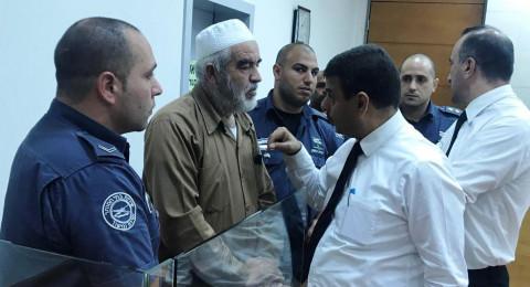 تأجيل محاكمة الشيخ رائد صلاح حتى 22 آذار القادم