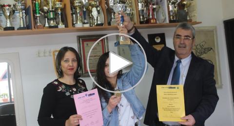سخنين:اعدادية الحلان تفوز ببطولة الدولة بمسابقة فن الخطابة باللغة الإنجليزية