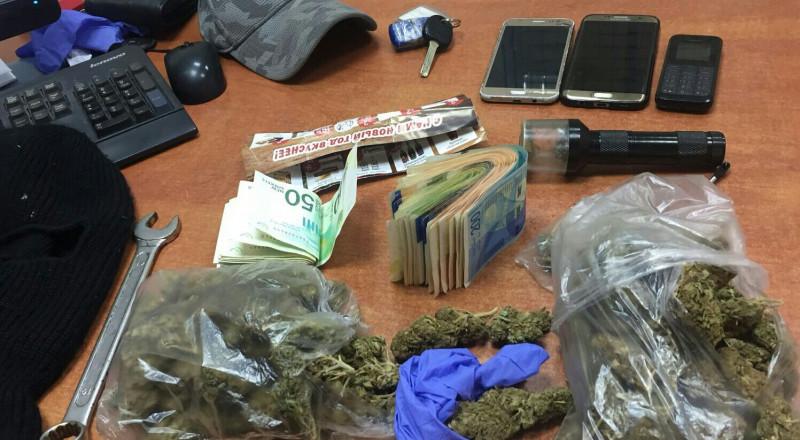 إعتقال شابين من رهط واللد وبحوزتهما مخدرات ومبلغ من المال