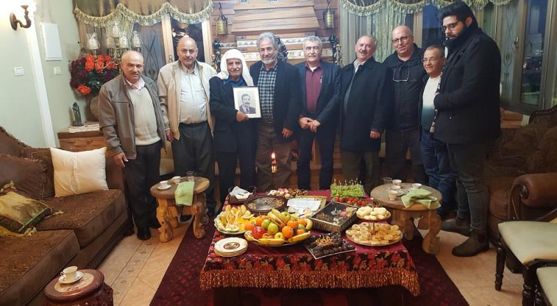 لجنة المبادرة العربية الدرزية تقدم التهاني للفنان البروفيسور اسد عزة