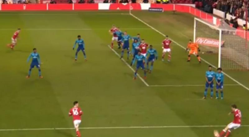 نوتنغهام فورست يقصي آرسنال من كأس الاتحاد الإنجليزي