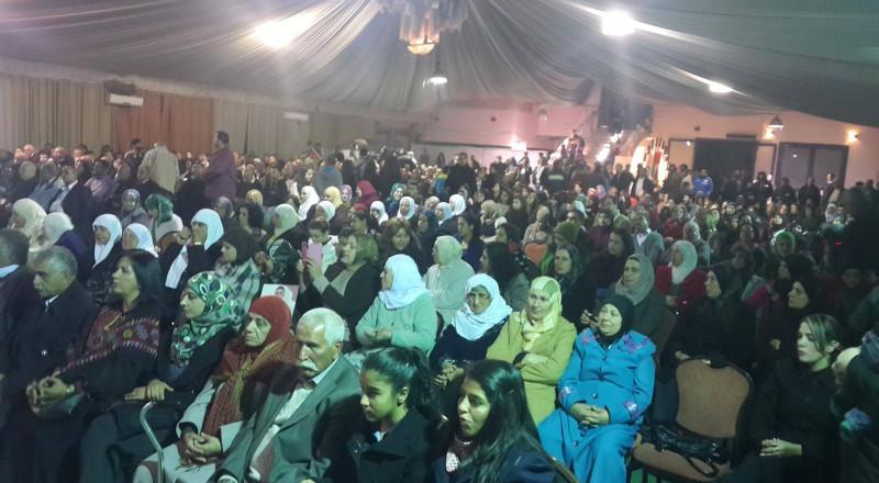 الحركة الأسيرة في مهرجان تضامني مع الأسرى