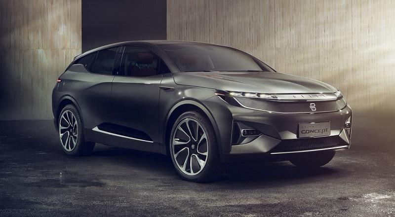 مفهوم صيني جديد للسيارات رباعية الدفع يمكن فتحه عبر بصمة الوجه