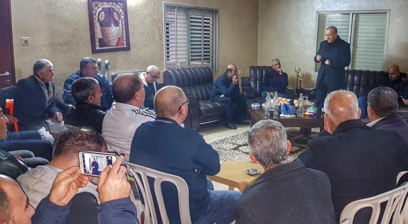 جولة ميدانية للنائب أكرم حسون في قرية شعب!