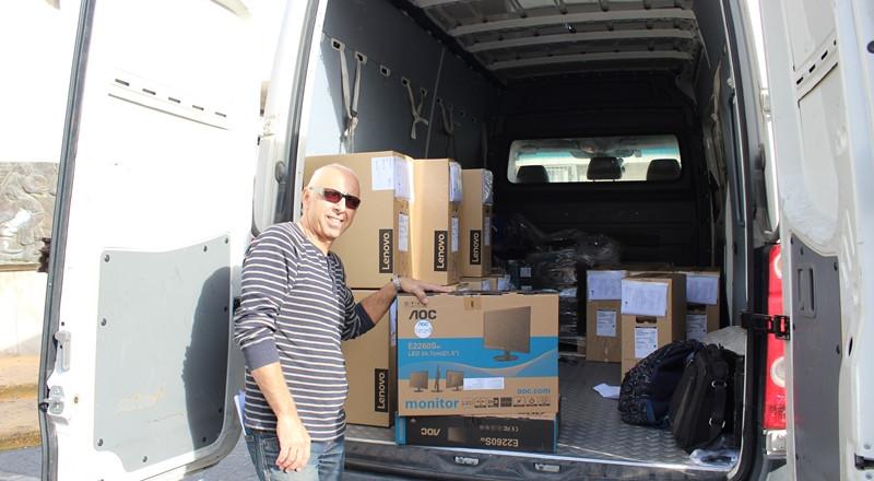 بلدية شفاعمرو: توزيع 75 حاسوباً ضمن مشروع حاسوب لكل طالب