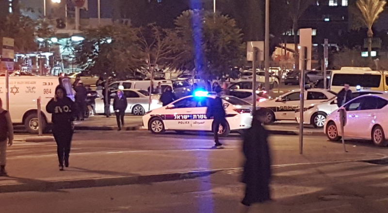 بئر السبع: عملية طعن جنائية تستنفر الشرطة
