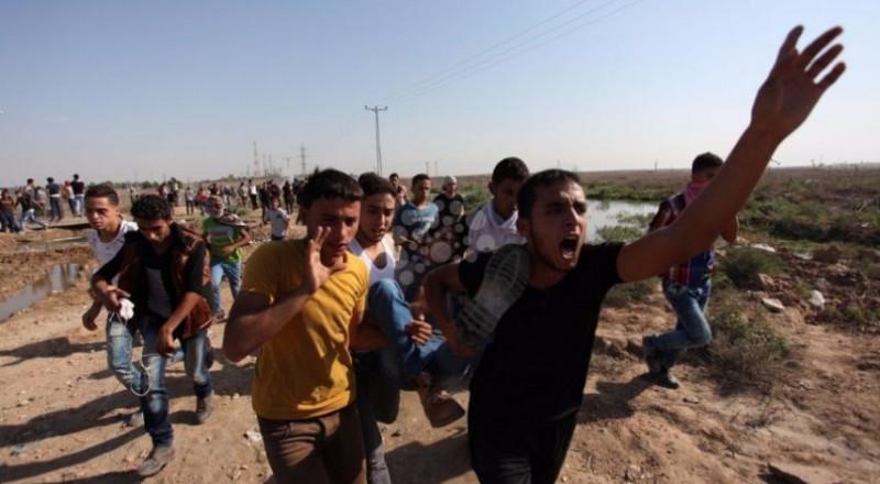 شهيد خلال مواجهات مع الاحتلال شرق البريج