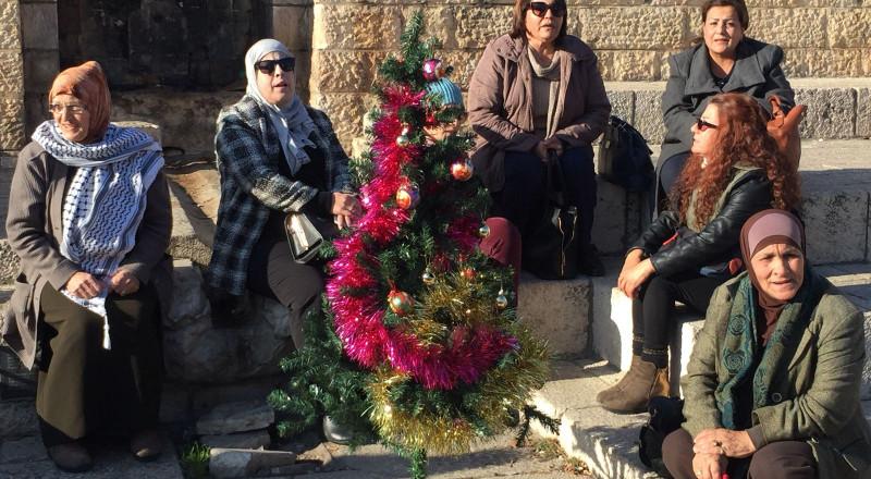 القدس: تفريق وقفة تضامينة مع الاسيرة المصابة اسراء جعابيص