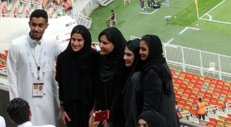 دخول المشجعات السعوديات ملعب