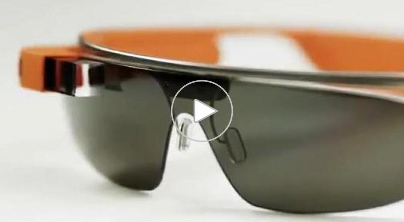 تجربة ارتداء نظارات غوغل
