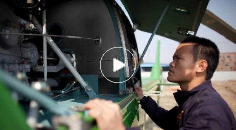 """الصين تطلق أول """"سوبرماركت"""" في العالم لبيع الطائرات"""