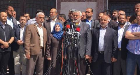 غزة، إسماعيل هنية يكشف عن قاتل الشهيد فقها