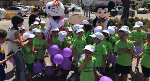 مسيرة للأطفال تجوب شوارع كابول في اليوم الثاني من مهرجان الطفولة