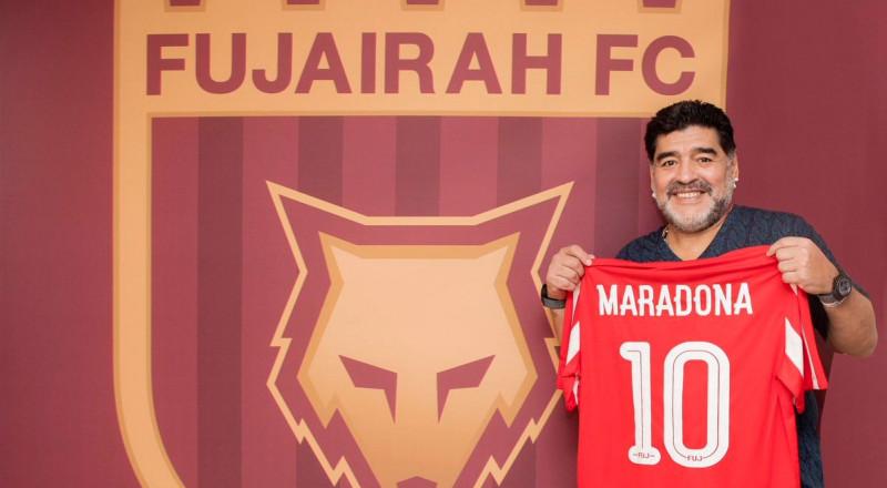 مارادونا يعود للتدريب في الإمارات