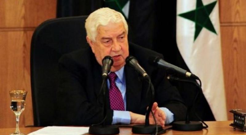 سورية: المُعلّم يهدد الأردن ويعقّب على نتائج الانتخابات الفرنسية