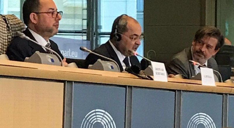 الطيبي يطرح أمام البرلمان الأوروبي مكانة الأقلية العربية والتشريعات العنصرية