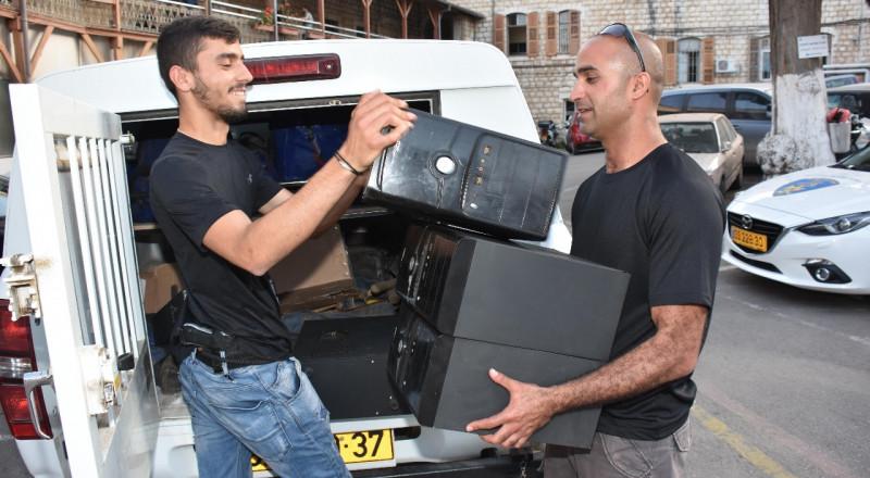 الناصرة: ضبط 3 محلات للعب