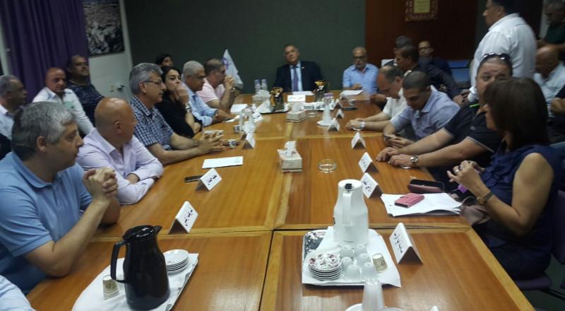 الناصرة، شباب التغيير: صوتنا ضد نهج إدارة البلدية وليس ضد الارقام الواردة في الميزانية المقترحة !