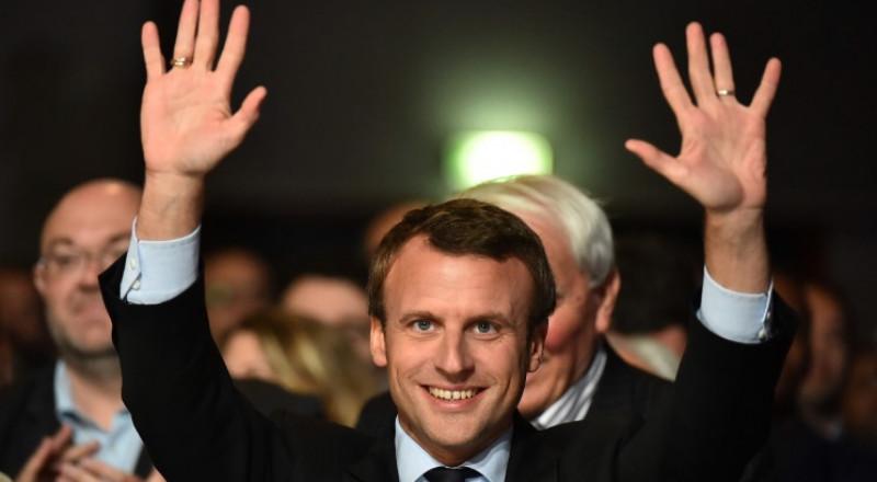 انتخاب ايمانويل ماكرون رئيسا لفرنسا