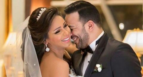زفاف المخرج كريم محمد على الفنانة نهى لطفي