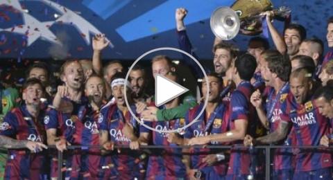 ماذا قالت الصحف الإسبانية بعد فوز برشلونة في برلين؟