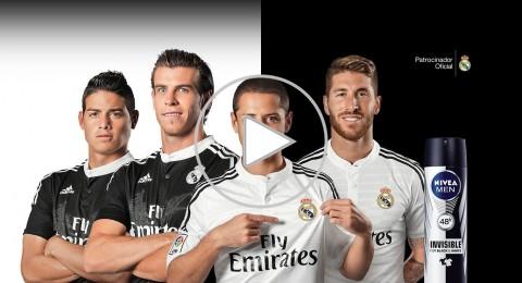 لاعبو ريال مدريد في إعلان لـ «مستحضرات التجميل»!
