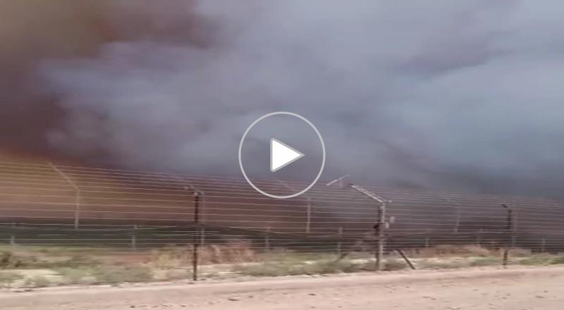 طبريا: حريق يندلع في الجانب الاردني واسرائيل تساعد في اخماده