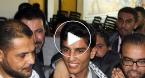 محمد عساف يزور مرضى السرطان في مستشفى بيت لحم