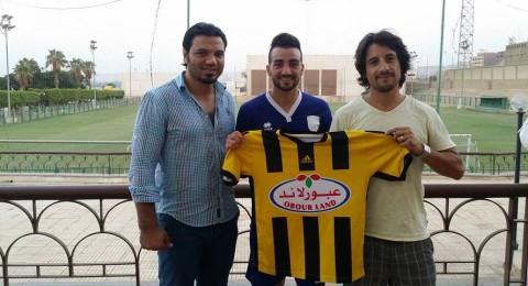 بعد اجتيازه الفحص الطبي عبد الله جابر ابن الطيبة لاعبا لفريق المقاولون المصري