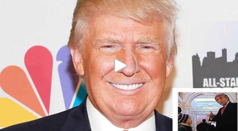 دونالد ترامب ظهر كومبارس في فيلم أمريكي شهير