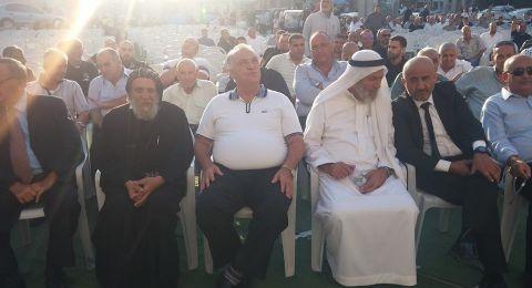 الناصرة: وضع حجر الاساس لمجمع السلام في الحي الشرقي