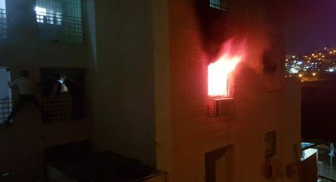 مصرع طفلين وإصابة أكثر من 10 أشخاص بحريق في بناية قرب القدس