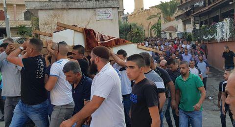 زلفة: بحسرة وألم.. تشييع جثمان شهيد لقمة العيش اغباريّة