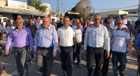 مرشحو الرئاسة في الجديدة المكر في مسيرة موحدة