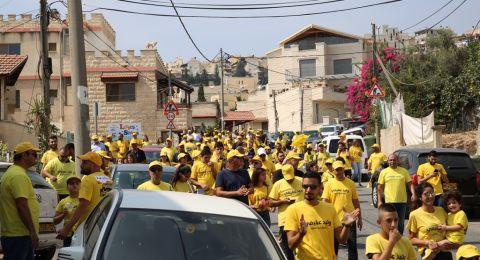 مسؤولو حملة العفيفي يدعون أن ناصرتي ألغت فعالية المناشير بسبب قلة عدد المشاركين