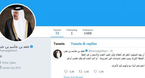 على وقع قضية اختفاء خاشقجي.. حمد بن جاسم آل ثاني ينتقد السعودية وسياساتها