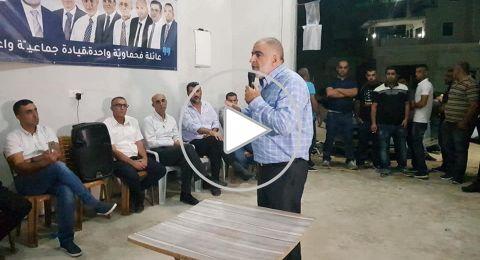 ام الفحم: الشيخ حمدان يدعو مؤيديه لتقبّل الأخر وإحترام الجميع