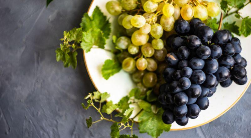قشر حبات العنب يحمي من سرطان مميت