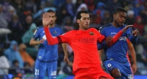 خيتافي يسقط برشلونة في فخ التعادل ويوسع الفارق بينه وبين ريال مدريد ..!