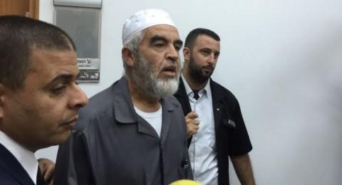 الشرطة الإسرائيلية: أنهينا التحقيق مع الشيخ رائد صلاح ونوصي بمحاكمته!