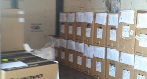 بلدية باقة الغربية: توزيع 42 حاسوب على الطلبة ضمن مشروع