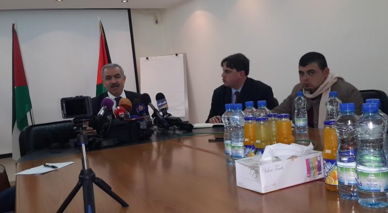 إشتية: سنعيد النظر باعترافنا بإسرائيل في حال تم نقل سفارة الولايات المتحدة للقدس